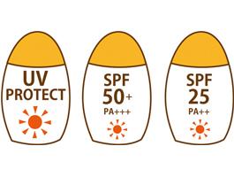 日焼け止めの「SPF」や「PA」