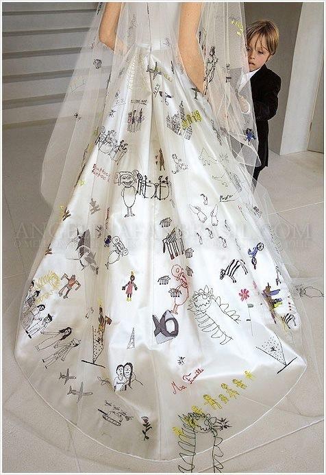 アンジェ落書きドレス