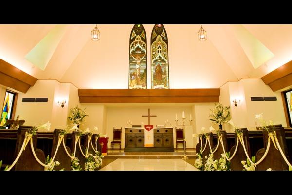 St.Haniel Chapel-緑の森の教会-