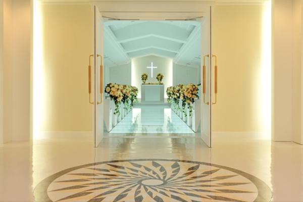 センチュリーロイヤルホテル・バージンロード