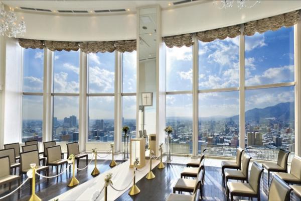 札幌プリンスホテル・バージンロード