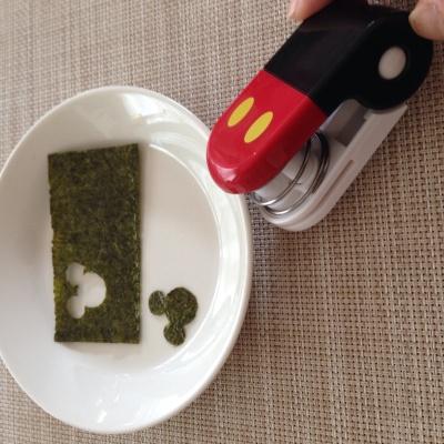 ミッキーの海苔カッター