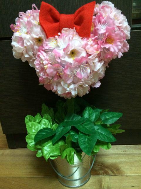 ミニー造花