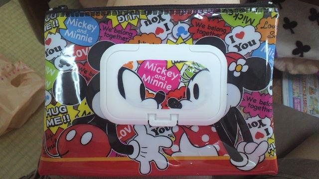 ミッキーのおしりふきケース