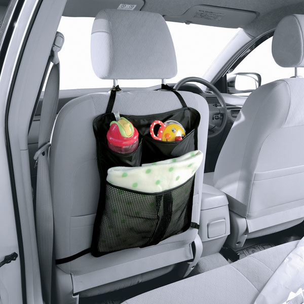 ベビーカー&カーシート対応 3ポケットバッグ