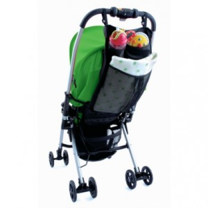 荷物カゴが小さいベビーカーにはベビーカーバッグが便利