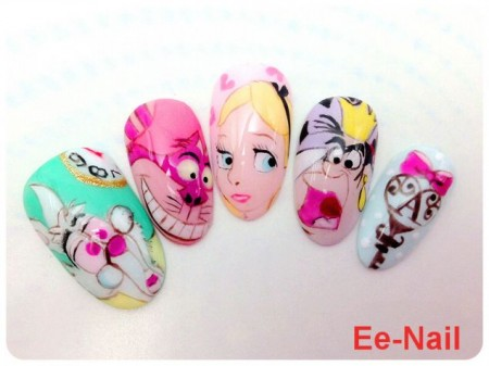 Disney nail photos of Japan10