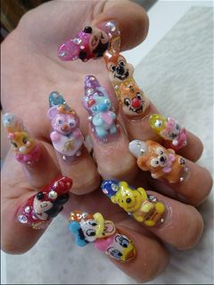 Disney nail photos of Japan11