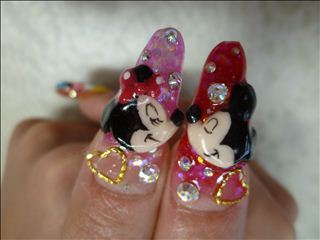 Disney nail photos of Japan11-2