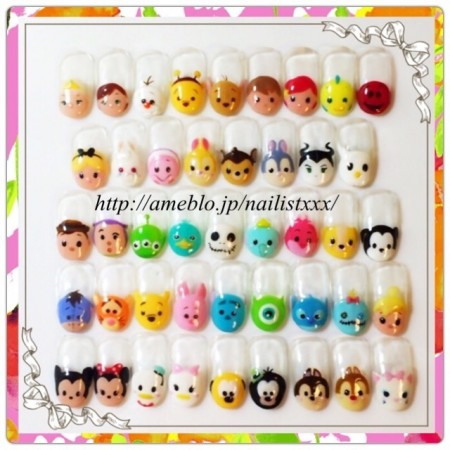 Disney nail photos of Japan12