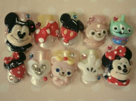 Disney nail photos of Japan5
