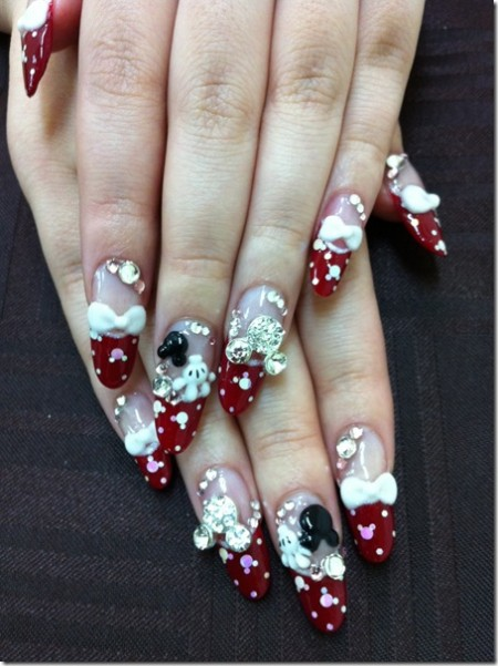 Disney nail photos of Japan8