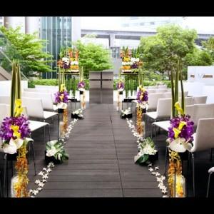 <赤坂・六本木麻布の式場選び> 人気バージンロードを写真で比較