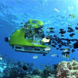 潜水艦スクーター