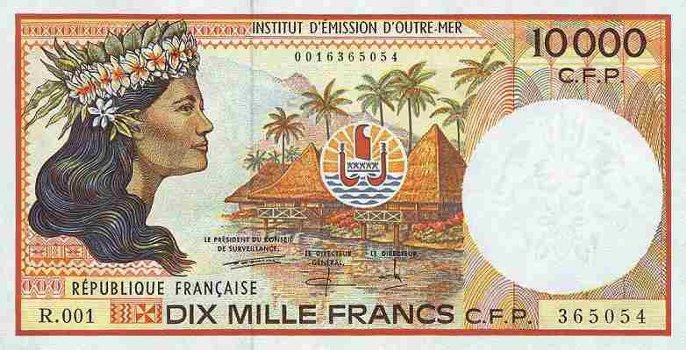 ボラボラ島の通貨