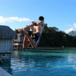 起きてすぐ海に飛び込めるなんてタヒチのボラボラ島はヤバすぎる!