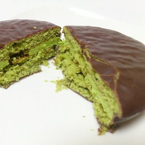 Choco Pie of the cross-section