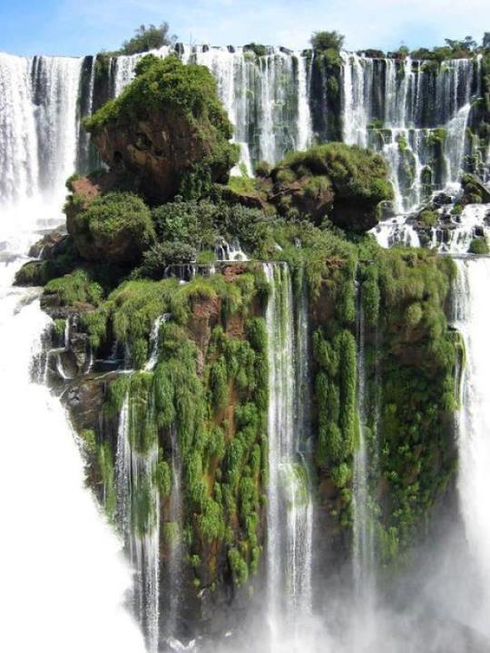 Waterfall Island
