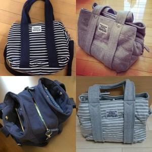 大人気しまむらのスウェットマザーバッグは他でも買える!!