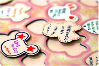 結婚式・ミッキー・ミニーのパズル型ウェルカムボード