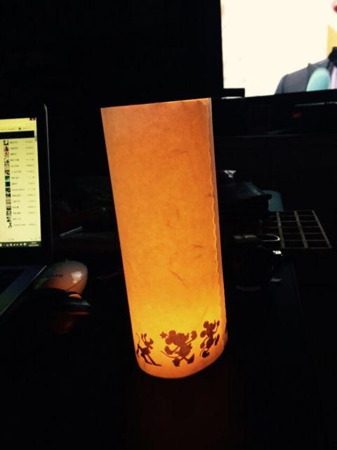 ミッキー灯籠