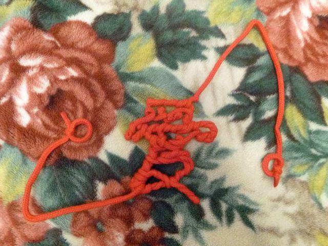 和装用の赤い糸