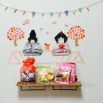 100均で簡単お雛様・折り紙で手作り感満載のひな祭り!